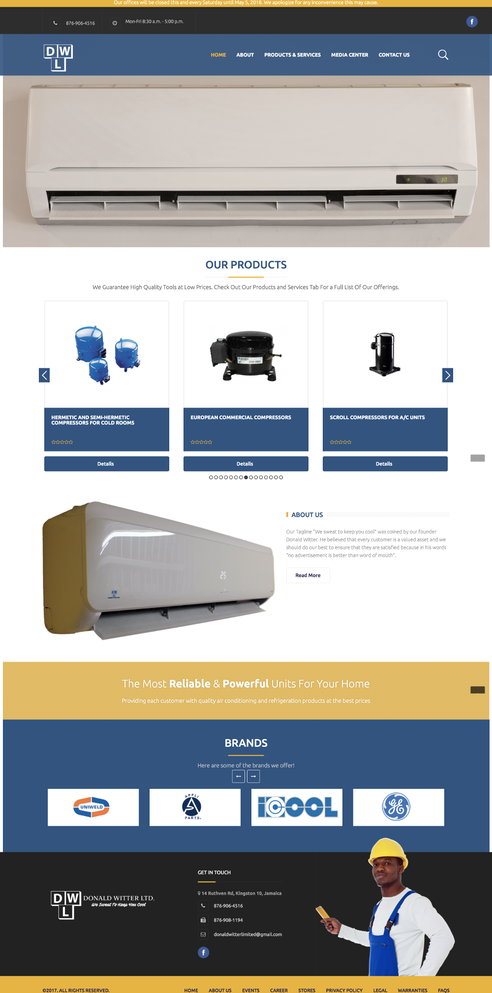 Donald Witter Limited Website