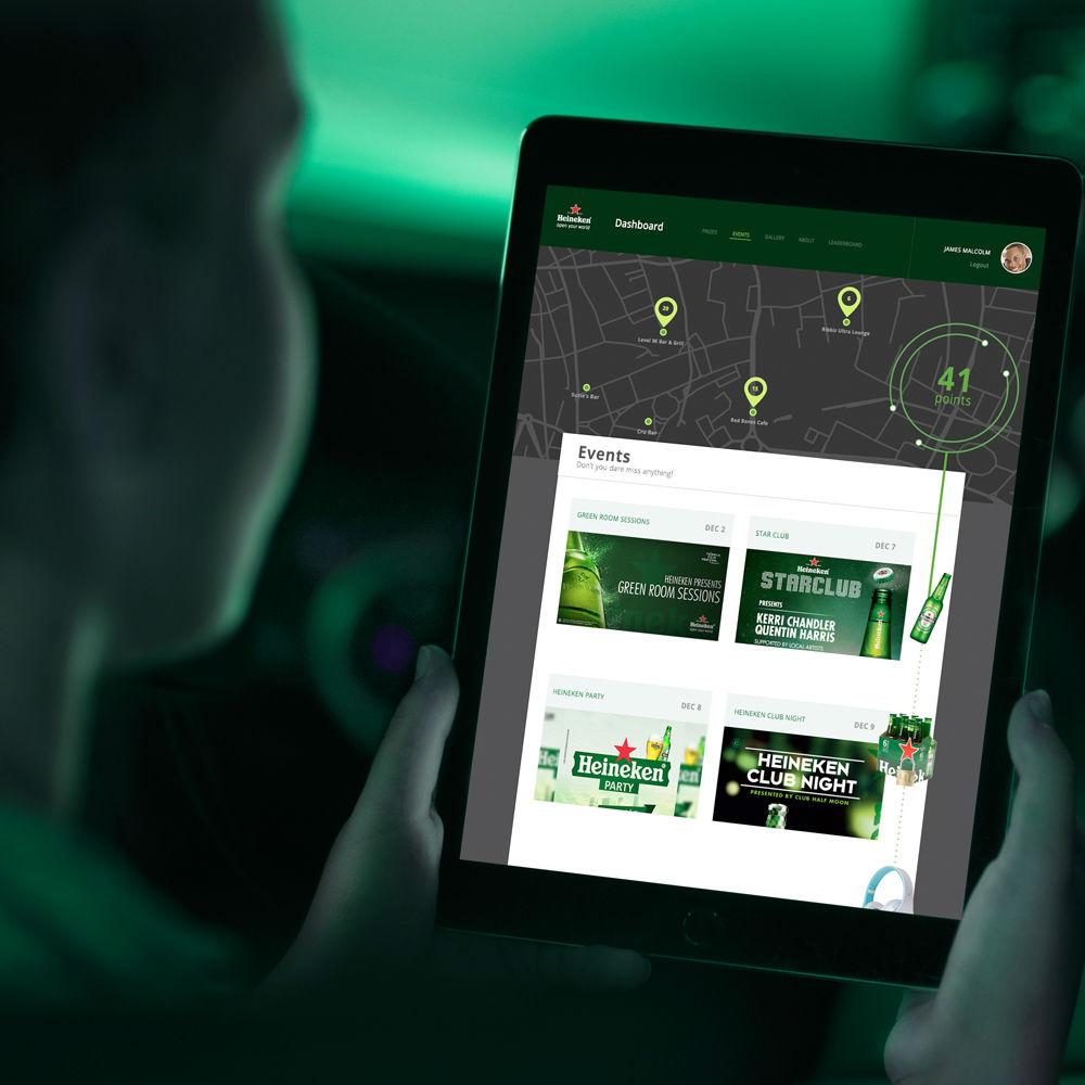 Heineken Passport Website
