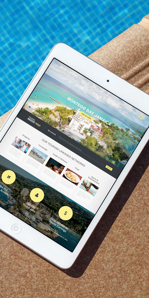 Ministry of Tourism Jamaica – Now I Get It Microsite