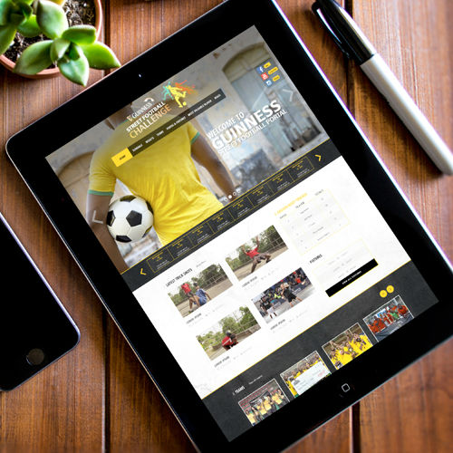 Guinness Street Football Challenge Website