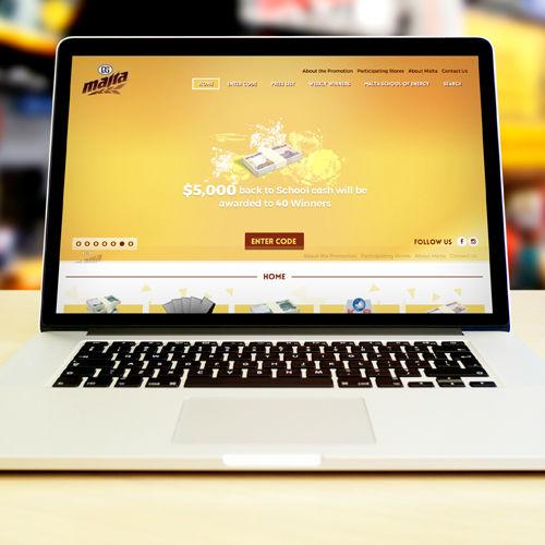 Malta Jamaica – Back to School Campaign Website