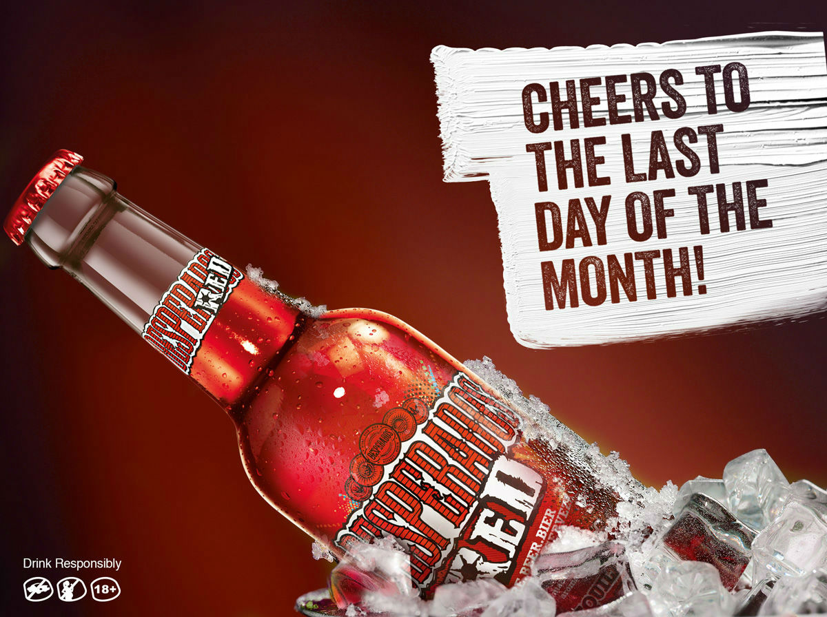 Desperados Red Last Day Of The Month Toucan