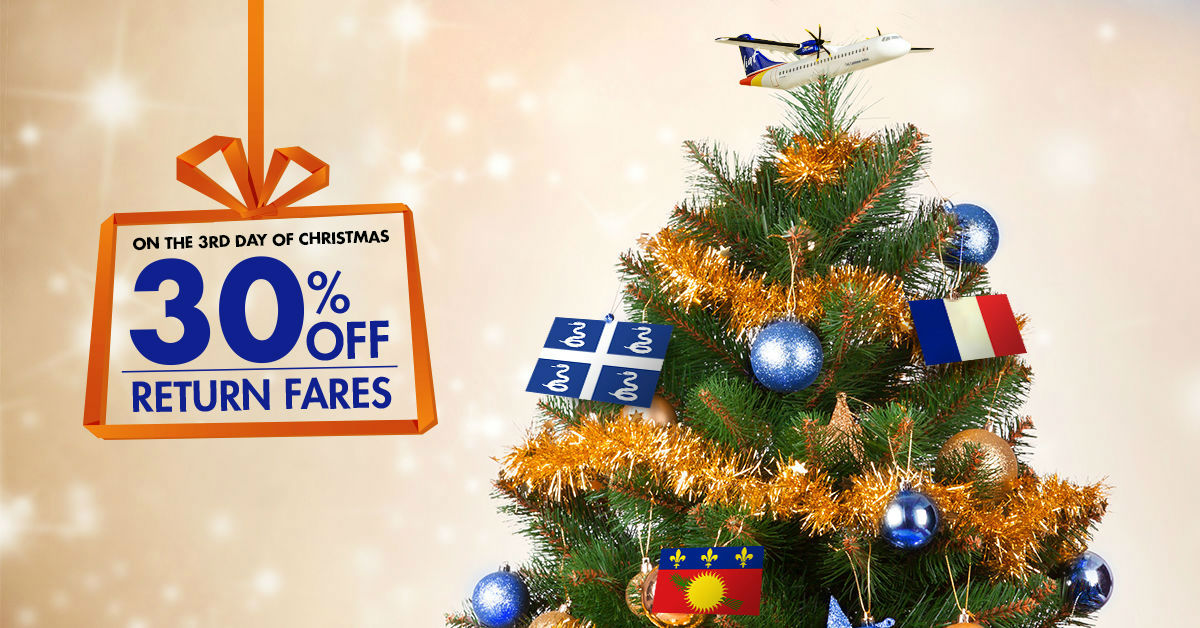 LIAT - 12 Days of Christmas - Day 3