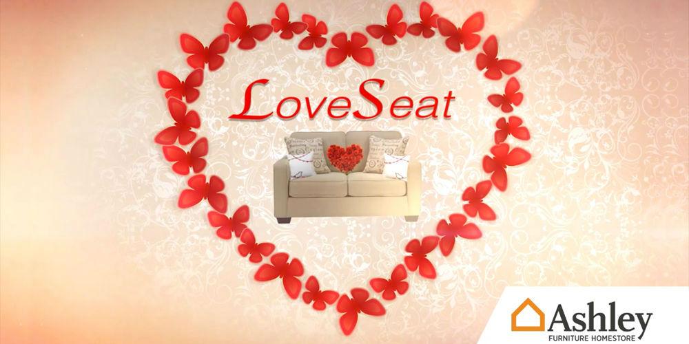 ashley love seat